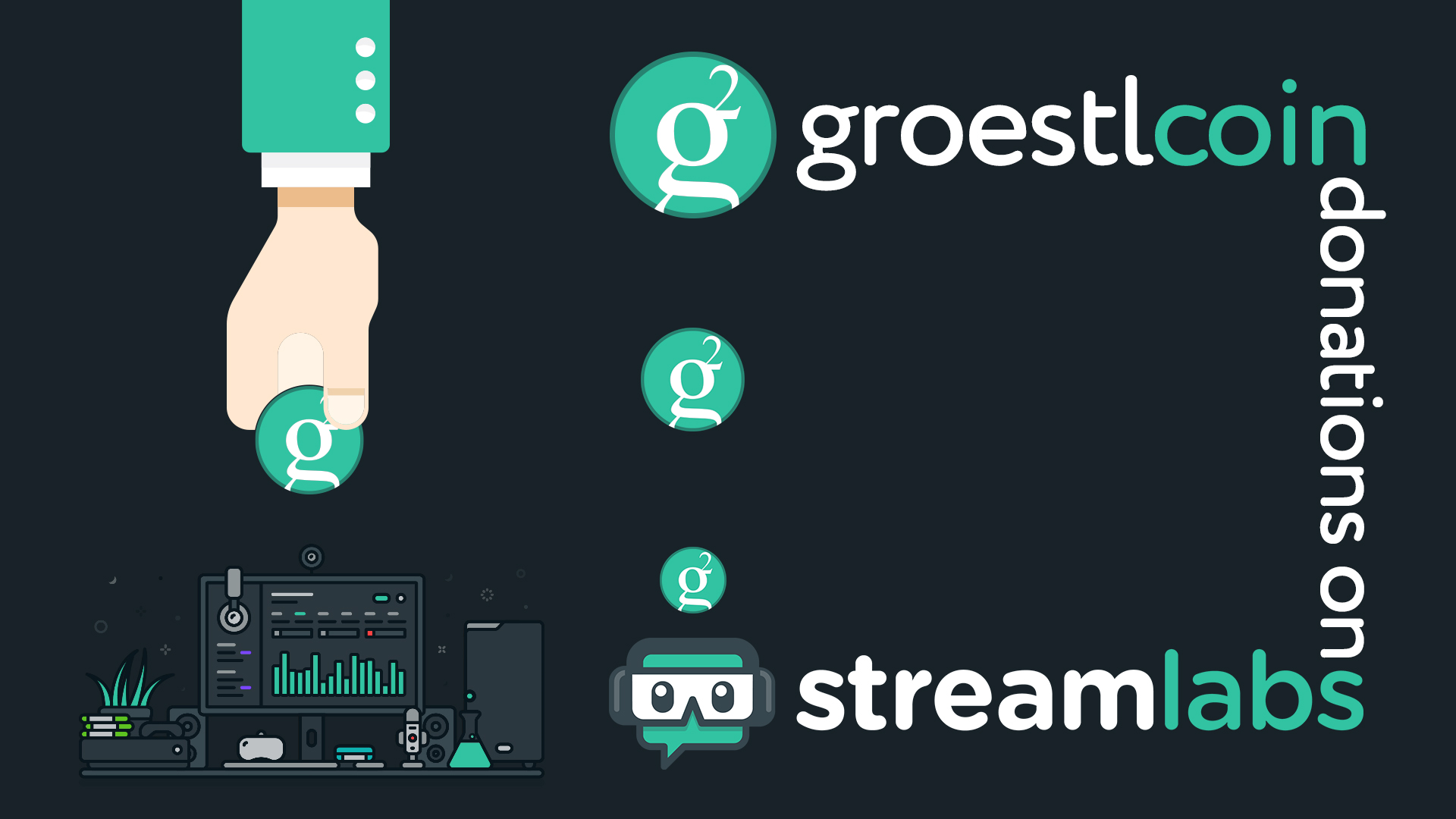 GroestlTip – Groestlcoin on StreamLabs • Groestlcoin (GRS)