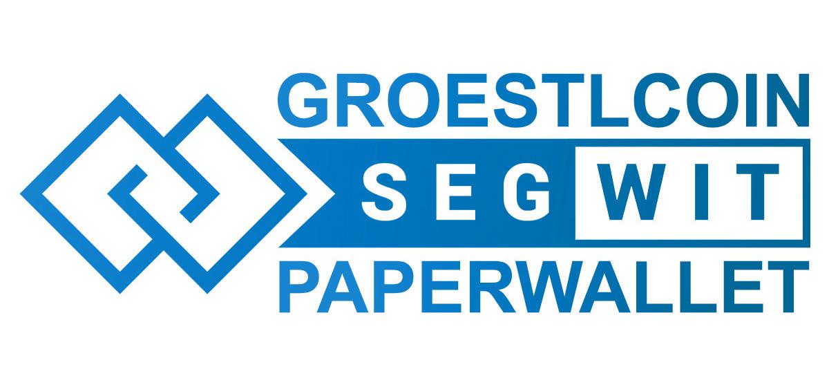 Groestlcoin Segwit Paperwallet • Groestlcoin (GRS)