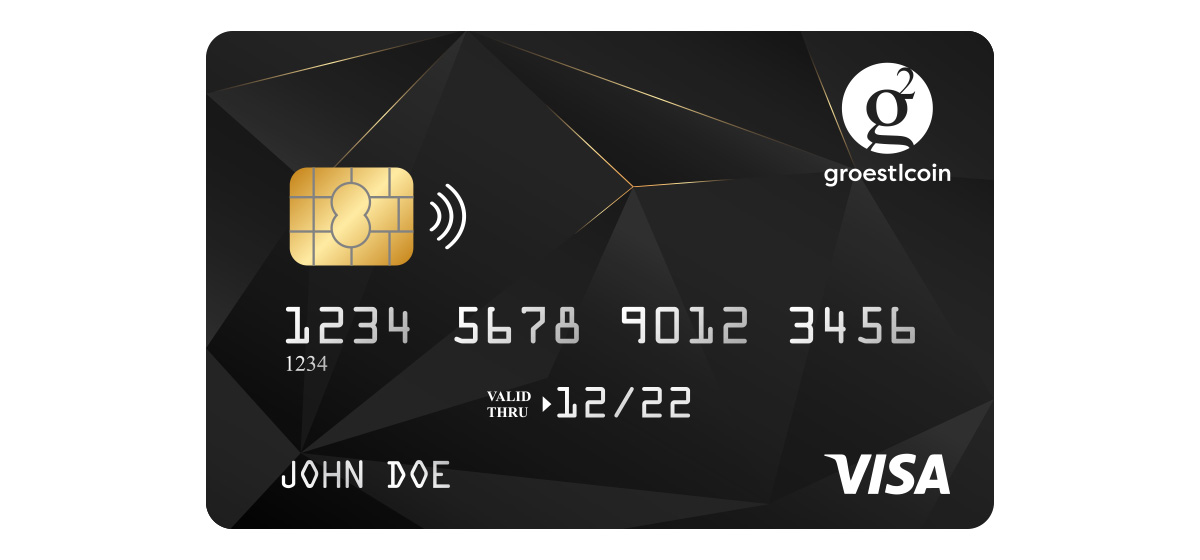 Equicex - Black Card for Groestlcoin GRS