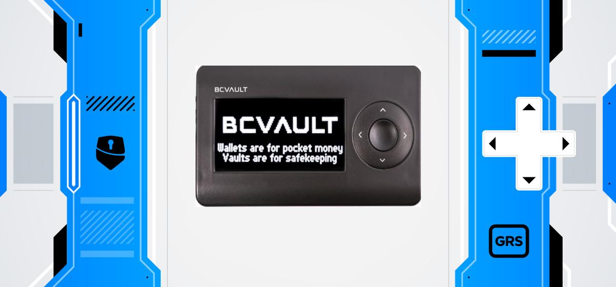 Groestlcoin BC Vault One hardware wallet